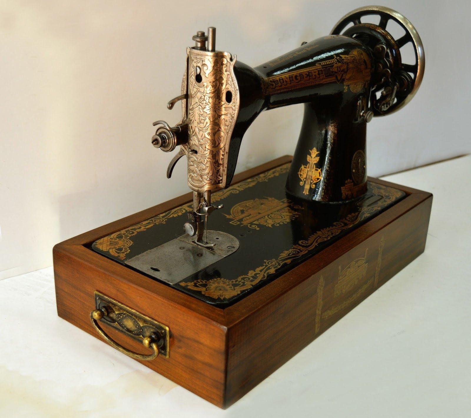 Restauraci n de m quinas de coser antiguas el blog de - Maquinas de coser restauradas ...