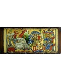 BIBLIA DE SOUVIGNY. ESCENA DE LA VIDA DE DAVID