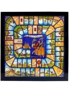 El juego de la oca del Camino de Santiago