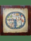 Mapamundi Medieval del Beato Burgo de Osma