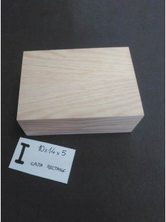 I-Caja acabada y personalizada