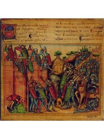Página del Caballero Zifar 2 15x15cm