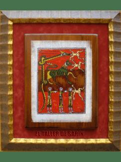 LA SALIDA DE LOS TRES ESPÍRITUS. beato Santo Domingo de Silos