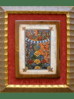 El cordero sobre el monte Sión del Beato de Santo Domingo de Silos